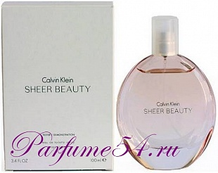 Calvin Klein Sheer Beauty EDP TESTER 100 мл