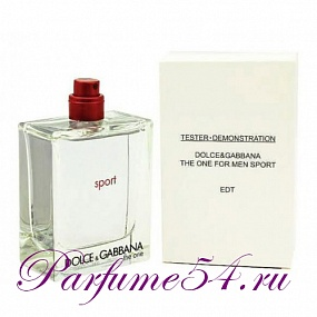 Dolce Gabbana The One Sport TESTER 100 мл