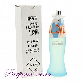 Moschino Cheap and Chic I Love Love TESTER 100 мл