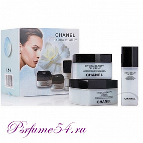 Набор кремов для лица Сhanel Hydra Beauty 3 в 1